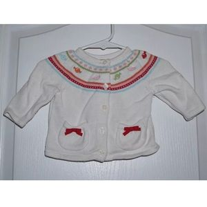 Gymboree Sweeter than Candy Cardigan Sweater 0-3 M